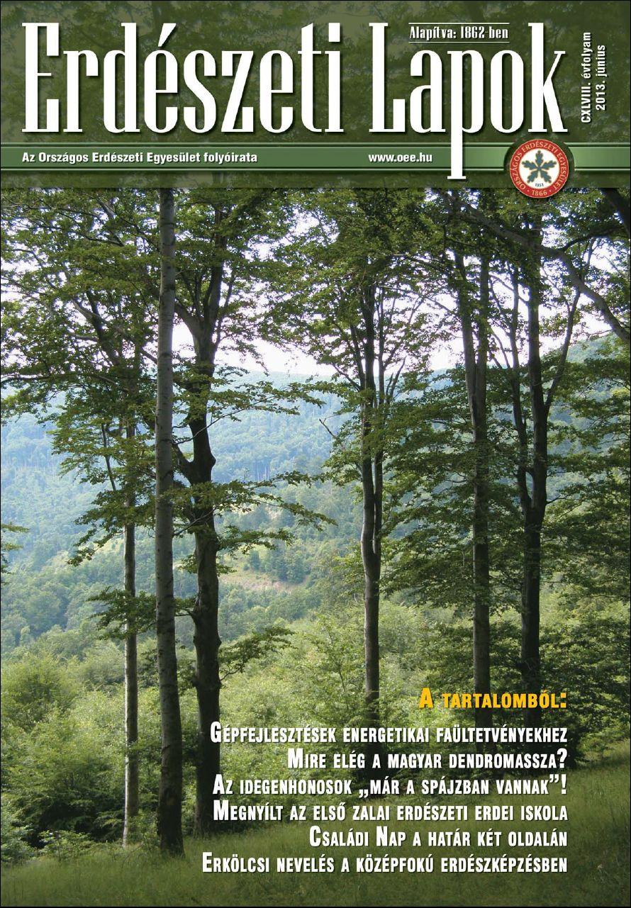 Erdészeti Lapok 2013. június