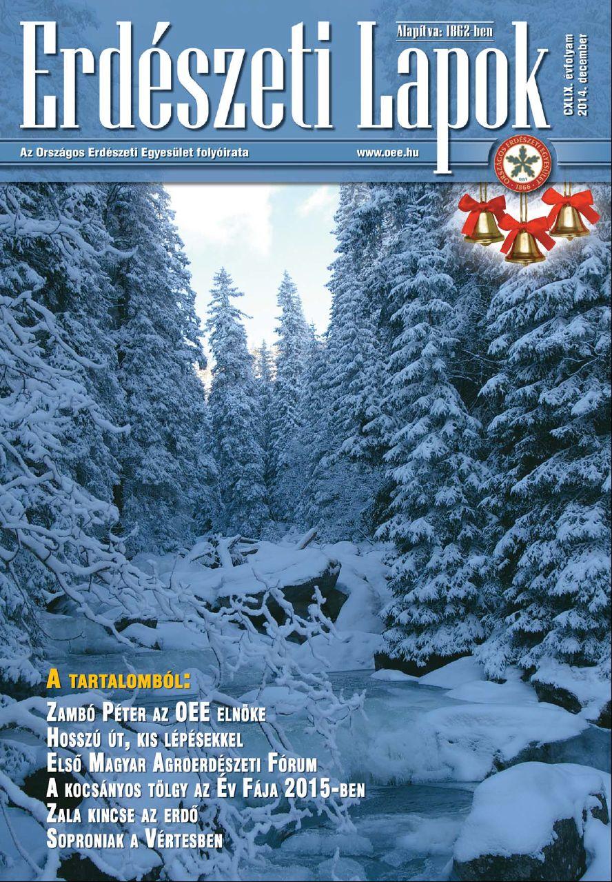 Erdészeti Lapok 2014 december