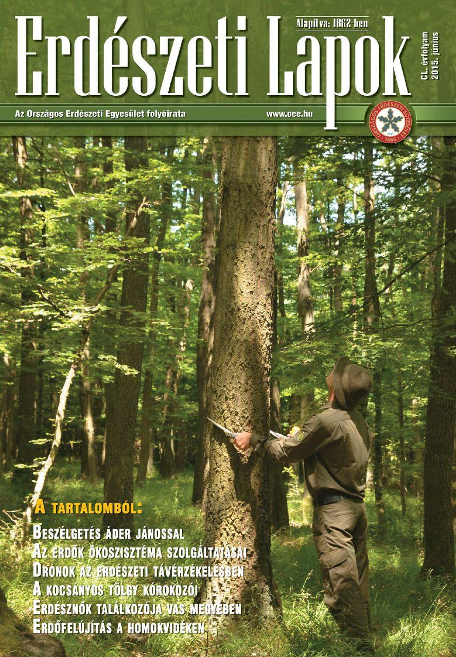 Erdészeti Lapok - 150. évfolyam - 2015. június