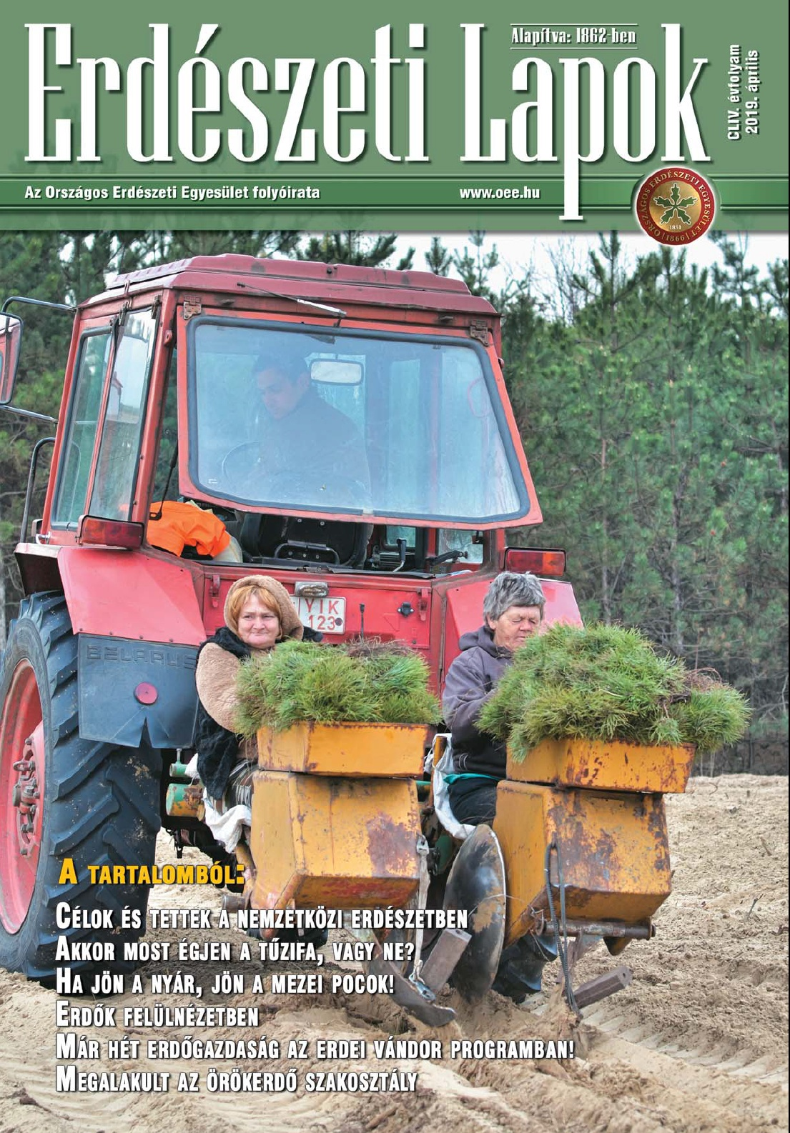 Erdészeti Lapok - 154. évfolyam - 2019. április