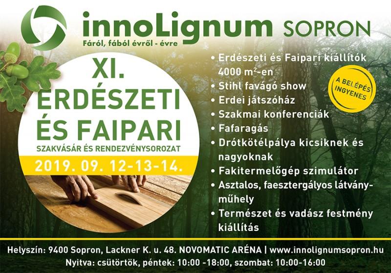innoLignum EXPO - 11. Faipari és Erdészeti Szakkiállítás és Vásár
