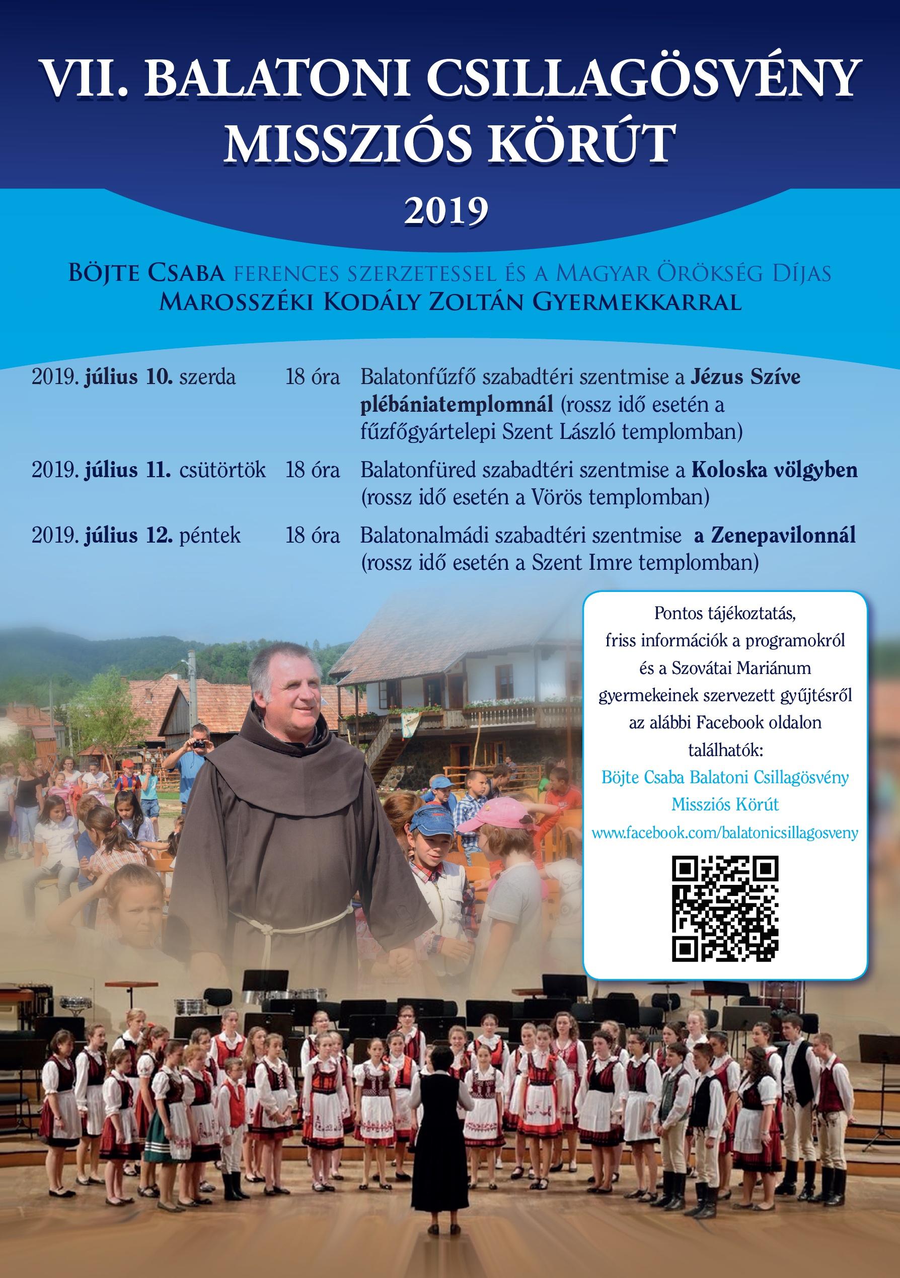 VII. Balatoni Csillagösvény Missziós Körút - 2019 - Koloska-völgy - Bakonyerdő Zrt.