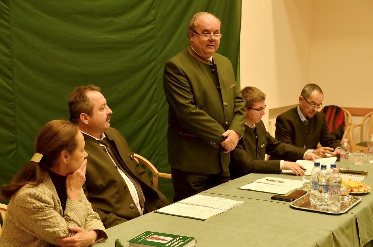 Zambó Pétert választotta elnökévé az Országos Erdészeti Egyesület
