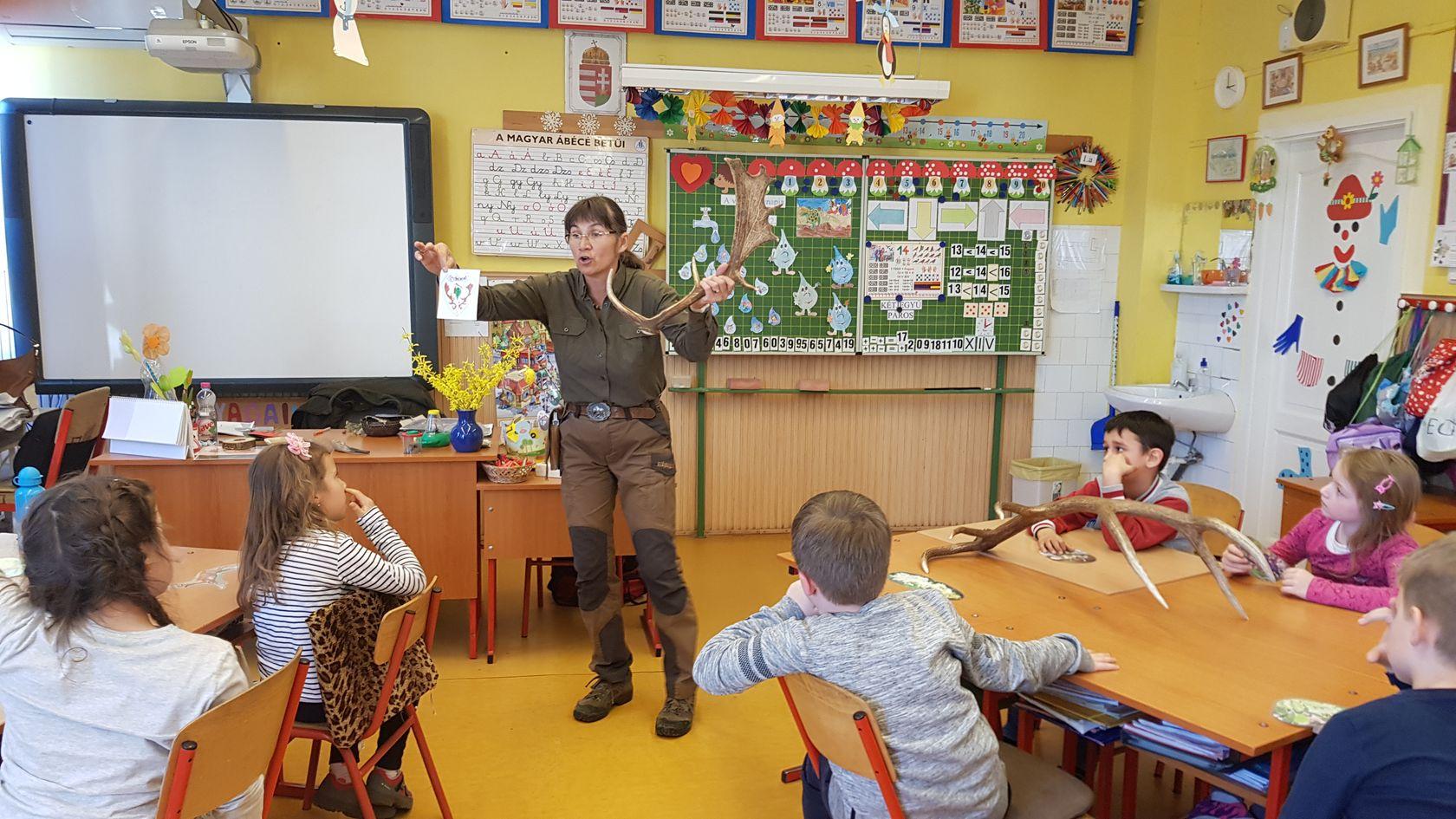 Népszerű a Pál Miklós Erdészeti Erdei Iskola új programja