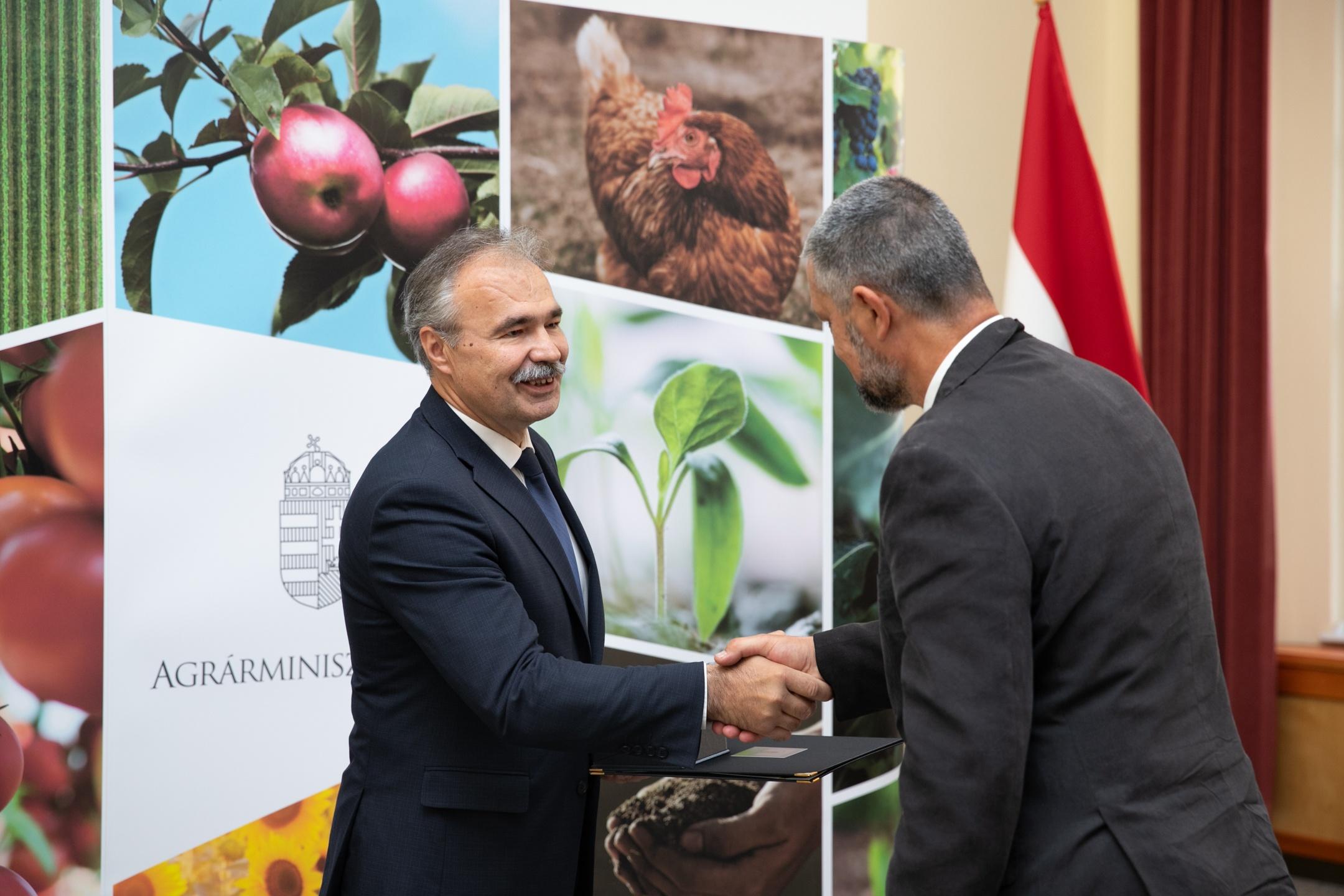 Zöld Toll díjat kapott Mőcsényi Miklós