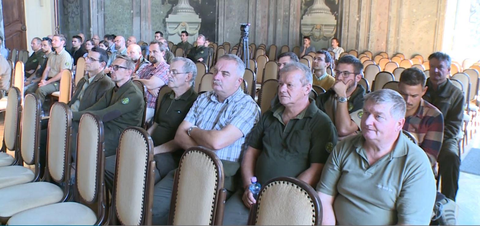Klímaváltozással kapcsolatos konferenciát rendezett az EGERERDŐ Zrt. az Erdők Hetén - videó!
