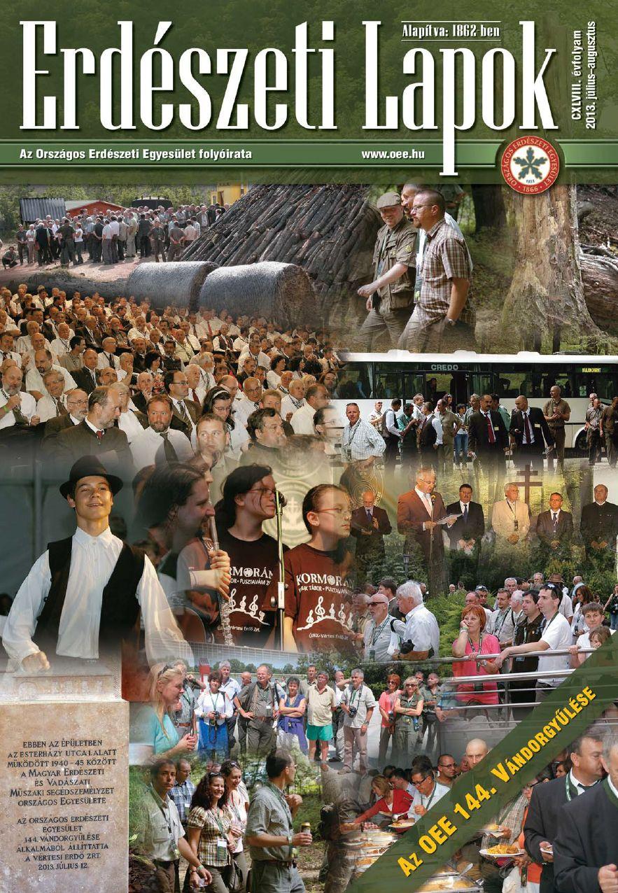 Erdészeti Lapok 2013 július-augusztus