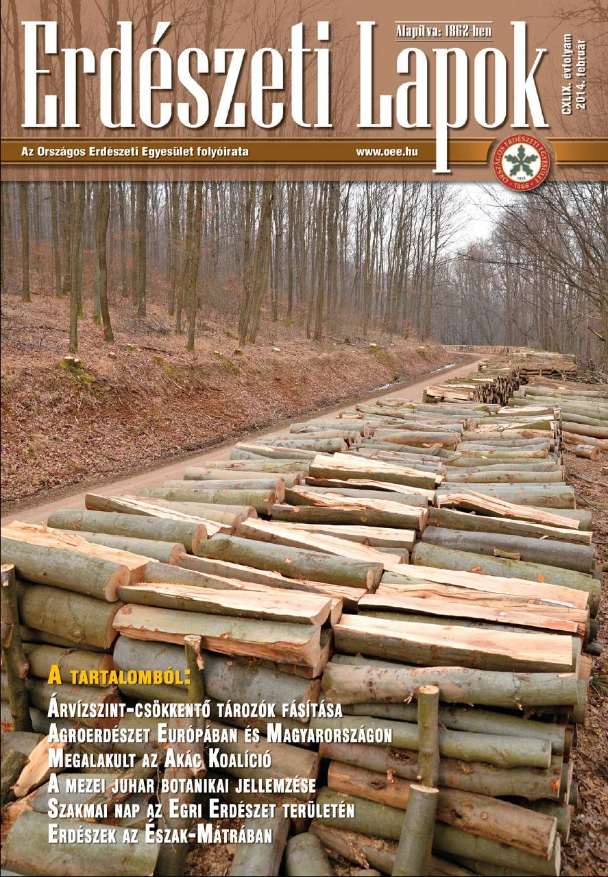 Erdészeti Lapok 2014 február