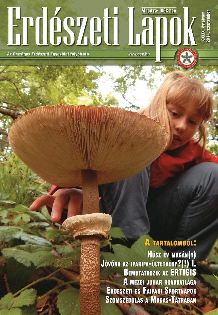 Erdészeti Lapok 2014 szeptember