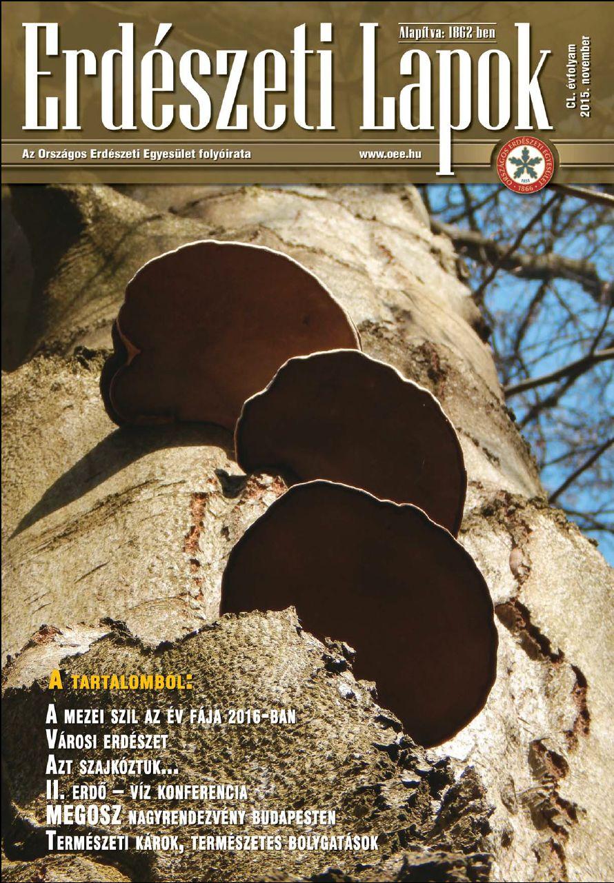 Erdészeti Lapok - 150. évfolyam - 2015. november