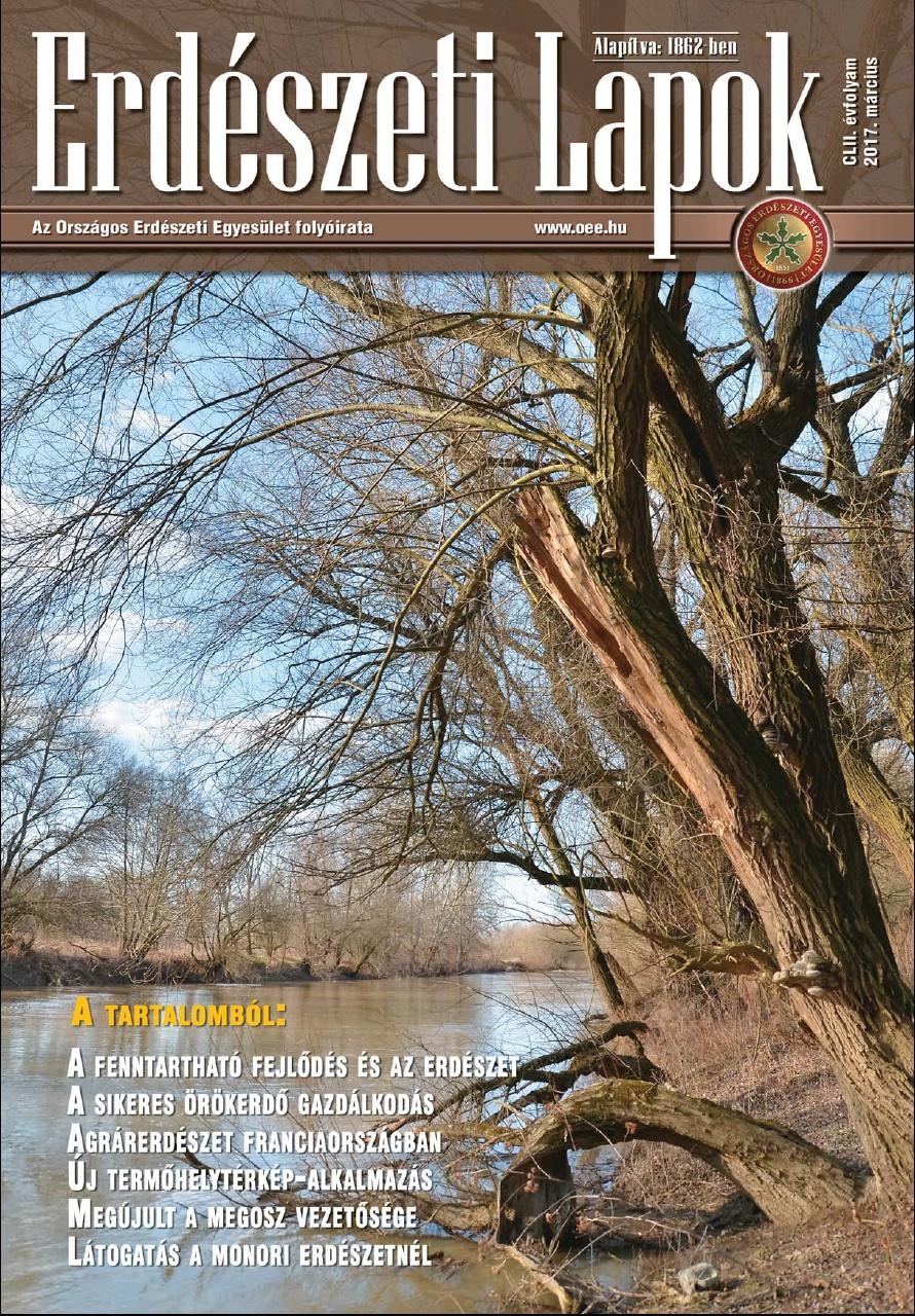 Erdészeti Lapok - 152. évfolyam - 2017. március