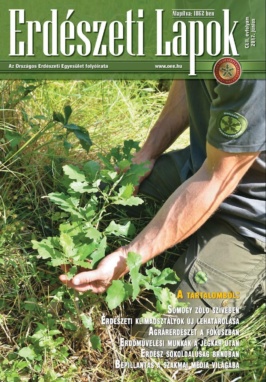Erdészeti Lapok - 152. évfolyam - 2017. június