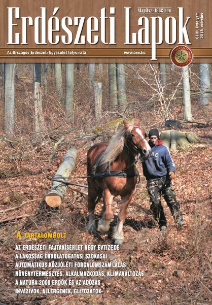 Erdészeti Lapok - 153. évfolyam - 2018. március