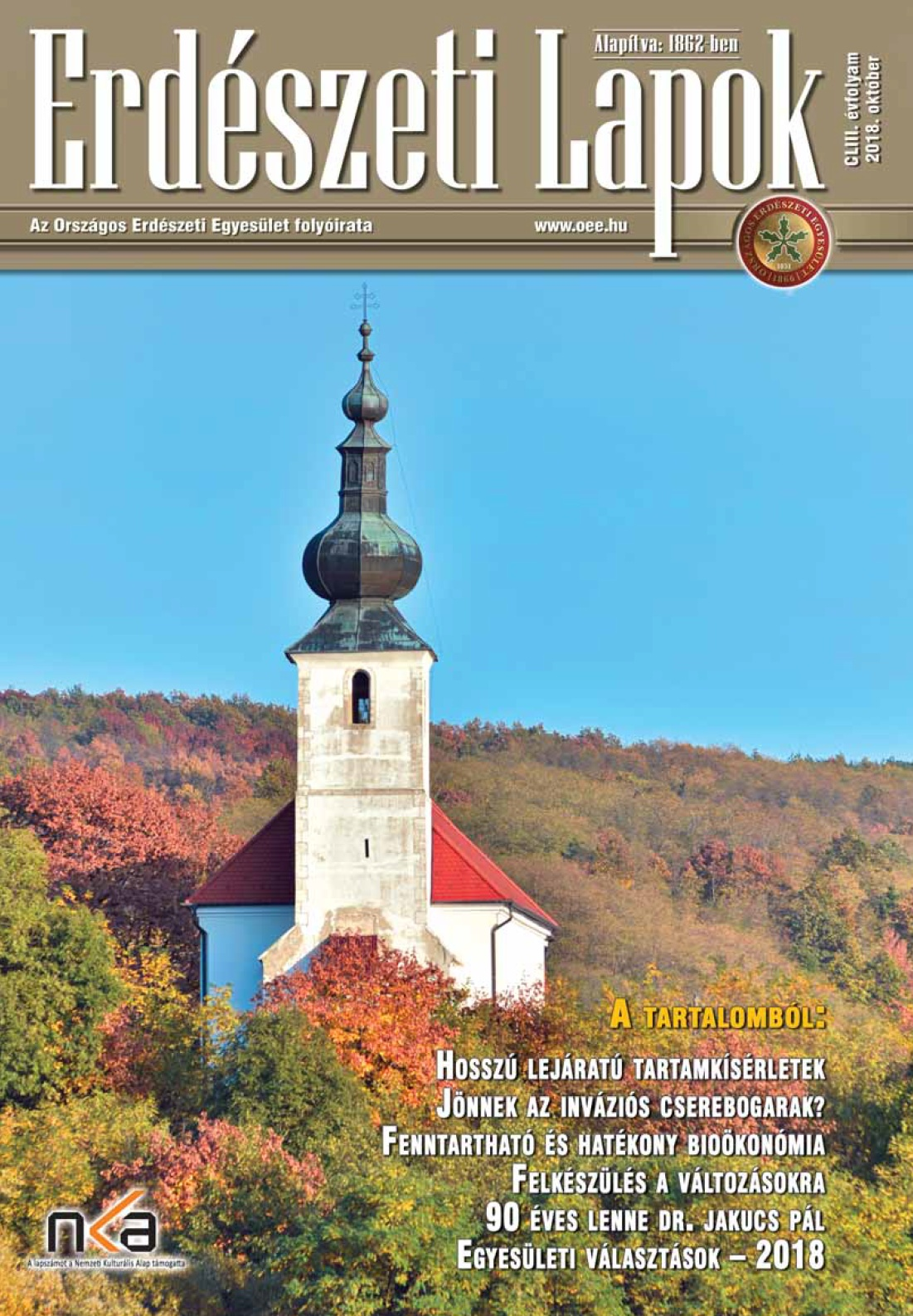 Erdészeti Lapok - 153. évfolyam - 2018. október