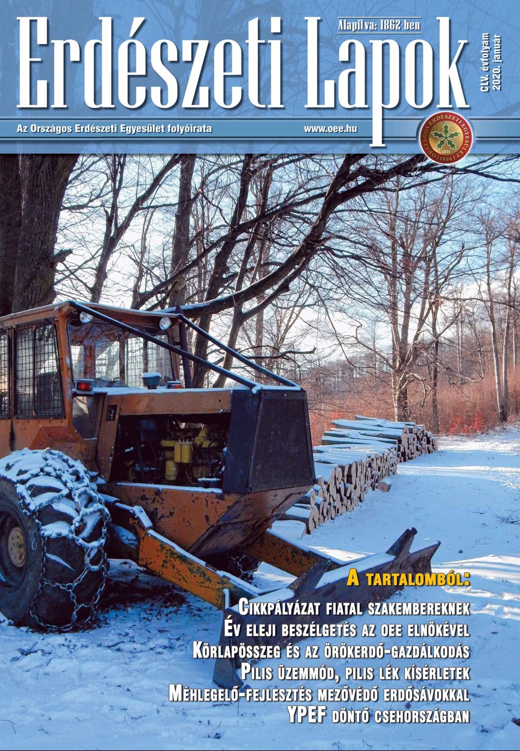 Erdészeti Lapok - 155. évfolyam - 2020. január