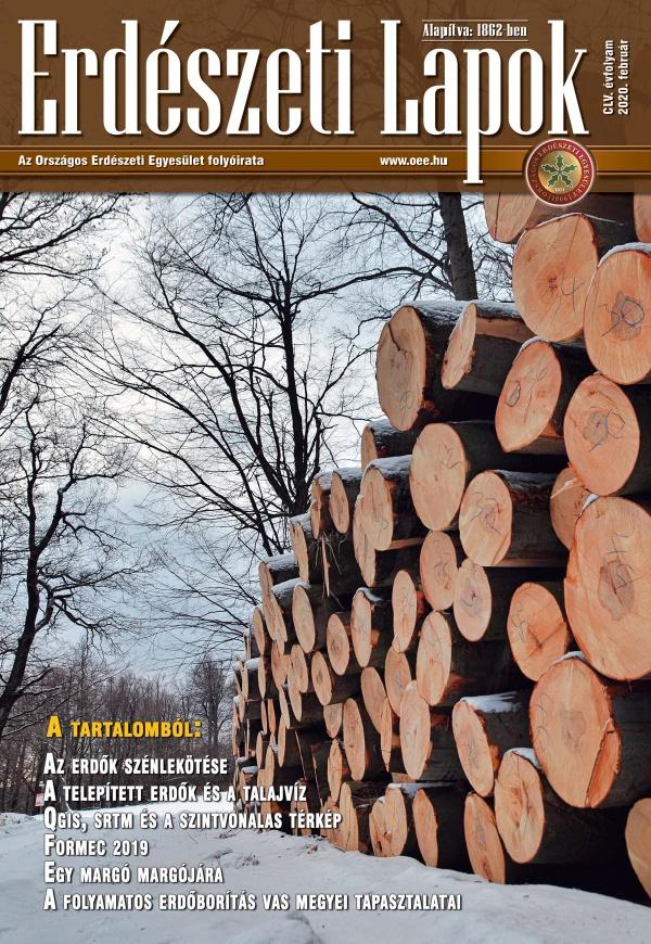 Erdészeti Lapok - 155. évfolyam - 2020. február