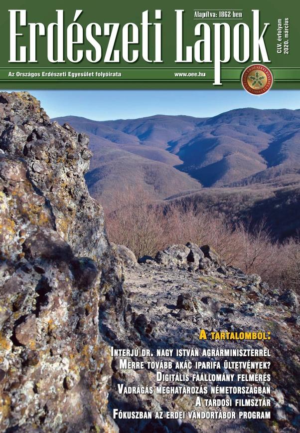 Erdészeti Lapok 155. évfolyam 2020.március