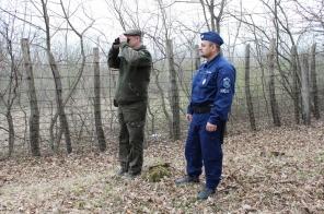 Erdészek és rendőrök ellenőrzik közösen a Gyulaj Zrt. erdőterületeit