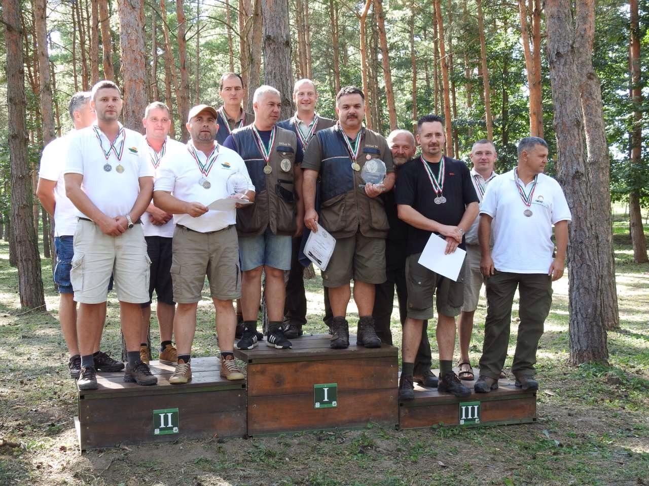 Kilencszeres kupagyőztes a Gyulaj Zrt. lőcsapata