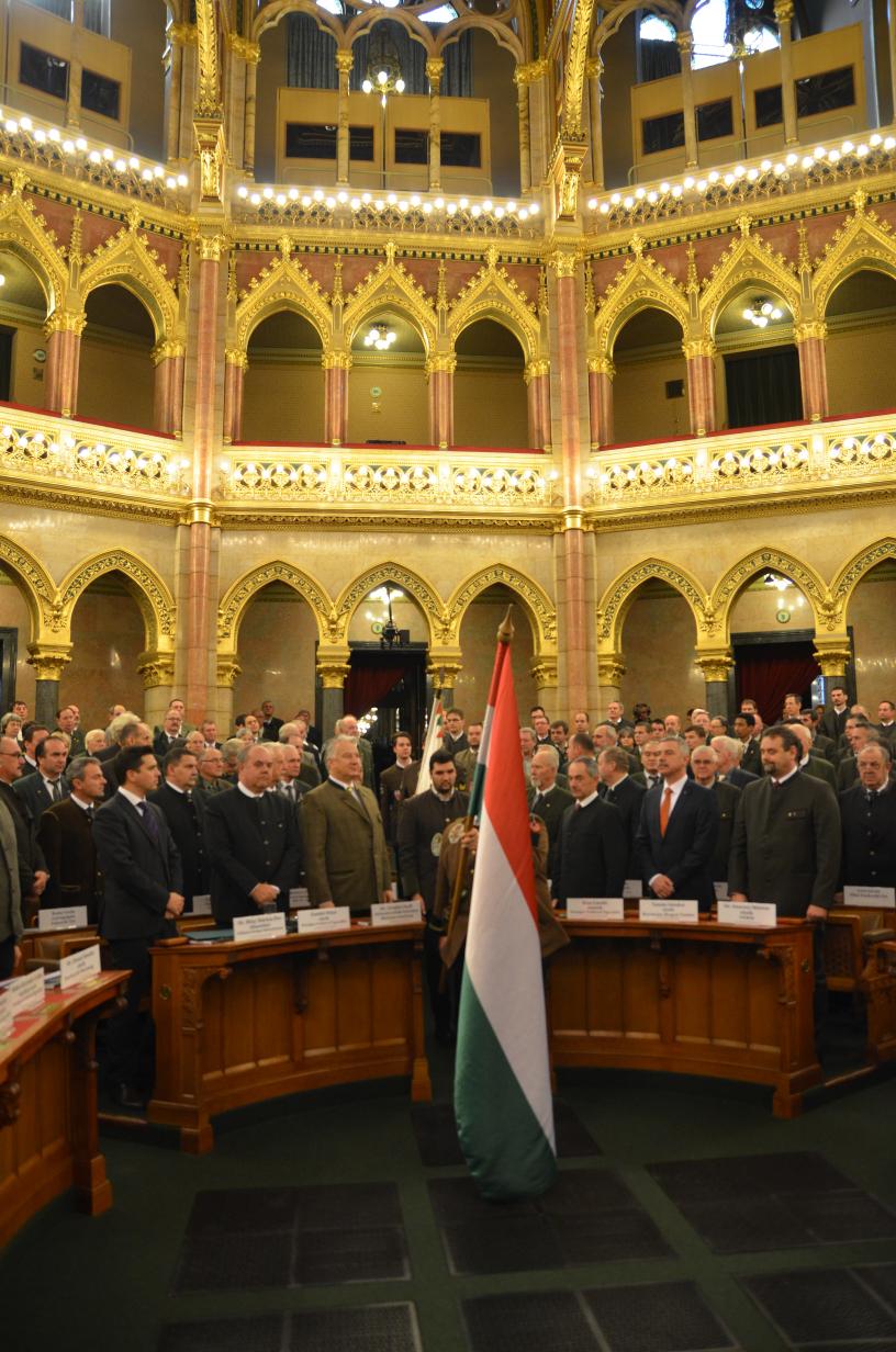 Jubileumi évzáró az Országházban - képgaléria!