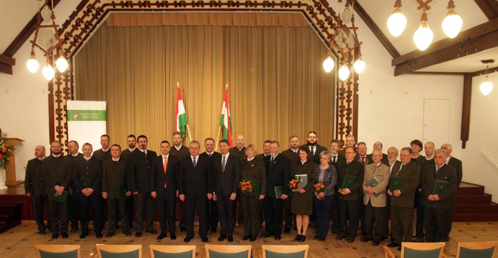 Pro Silva Hungariae díjakat és miniszteri elismeréseket adtak át az Erdők Nemzetközi Napján - képek!