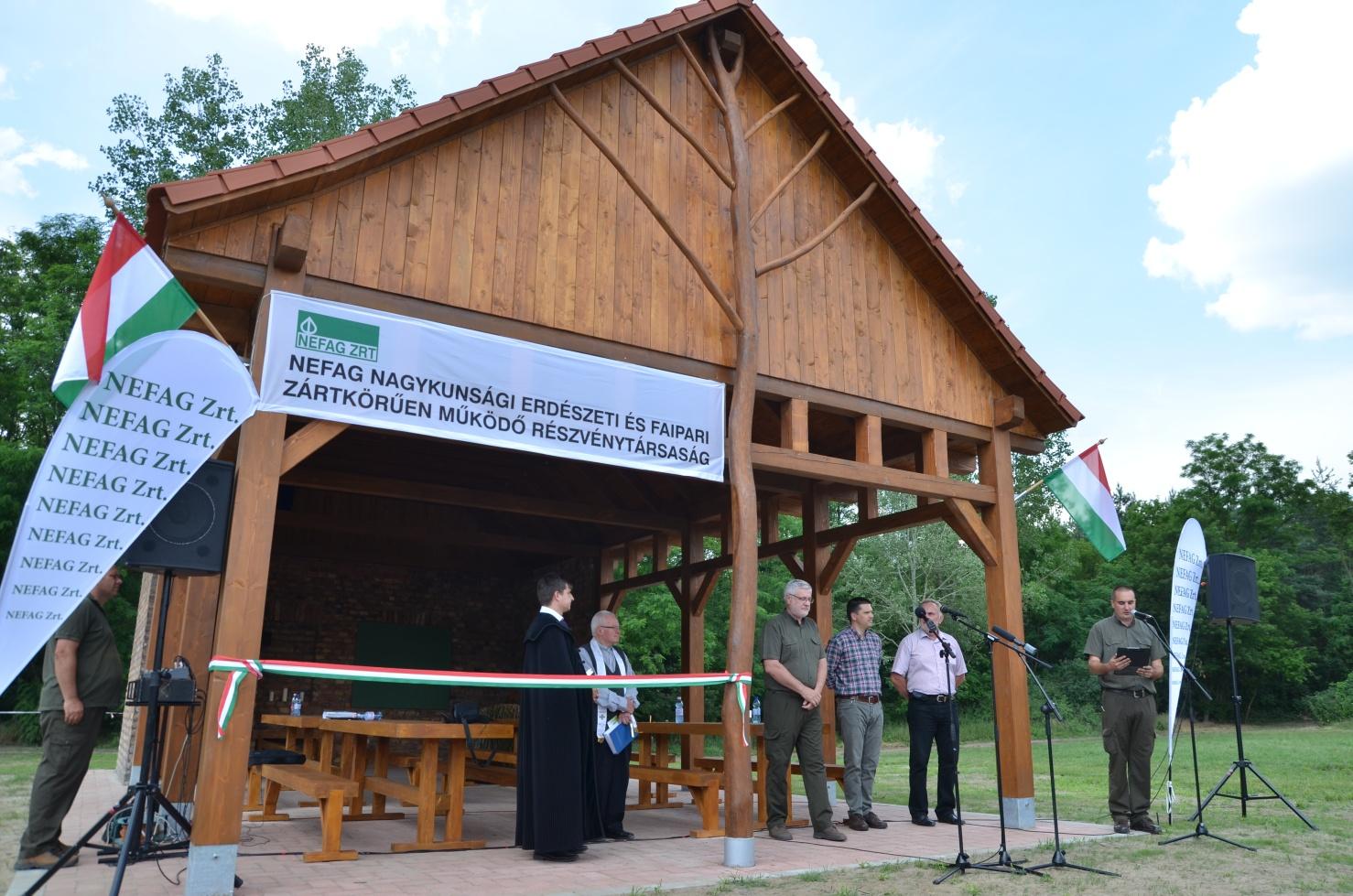 Erdei tantermet avattak a Pótharaszti Erdőben - képgaléria!