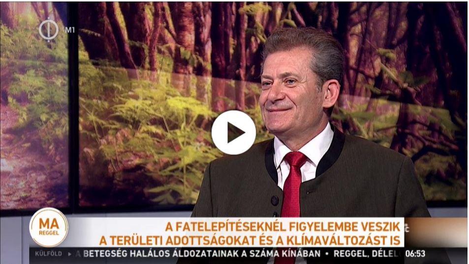 Cél, hogy az ország területének legalább 27 százalékát borítsa erdő