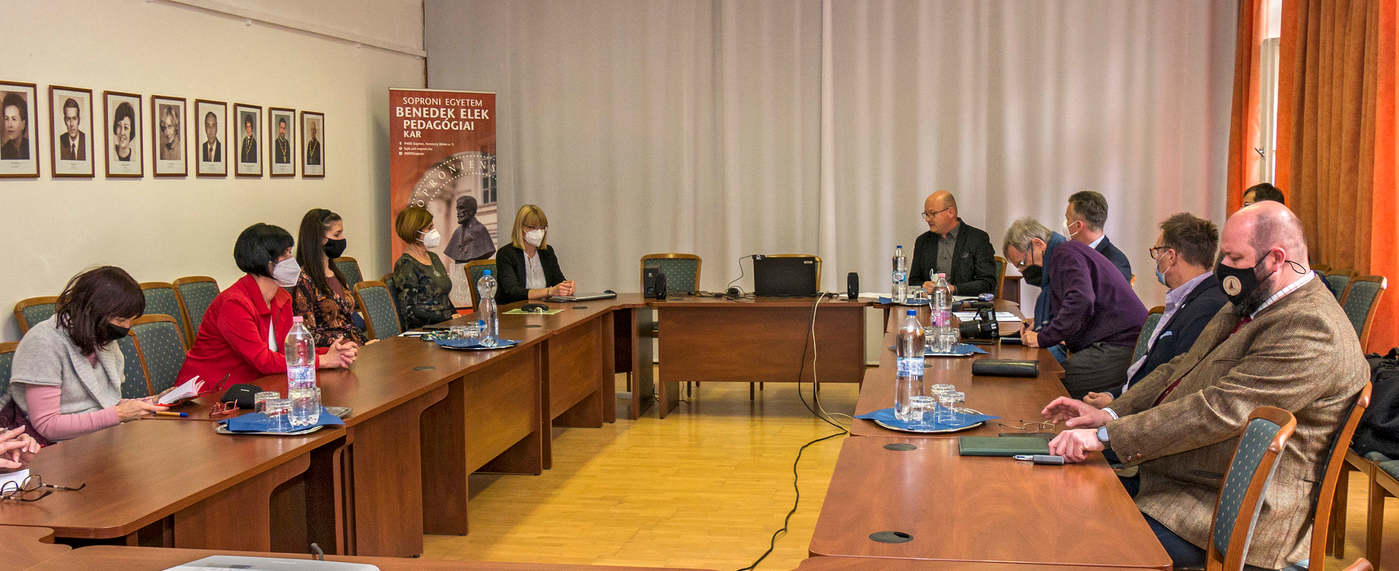 A Benedek-kar zöld koncepciójáról egyeztettek Sopronban