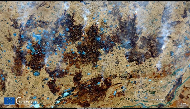 Szokatlanul korán kezdődtek a szibériai erdőtüzek az idén