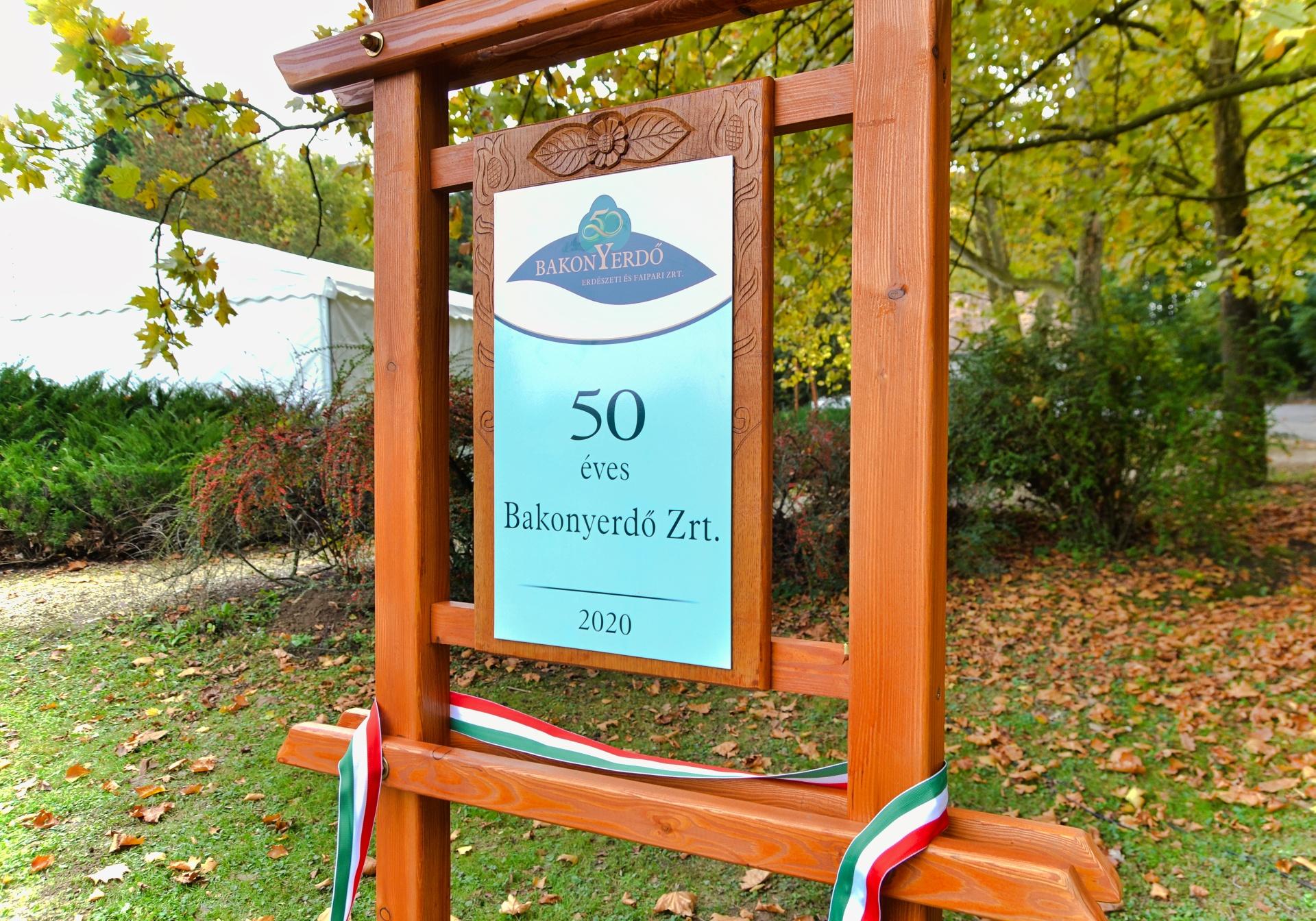 Fennállásának ötvenedik évfordulóját ünnepelte a Bakonyerdő Zrt.