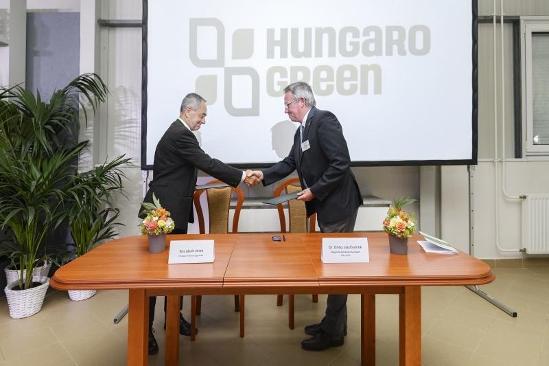 Együttműködési megállapodást írt alá az OEE a Magyar Díszkertészek Szakmaközi Szerveztével