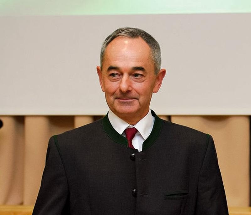 Kiss László az Országos Erdészeti Egyesület elnöke