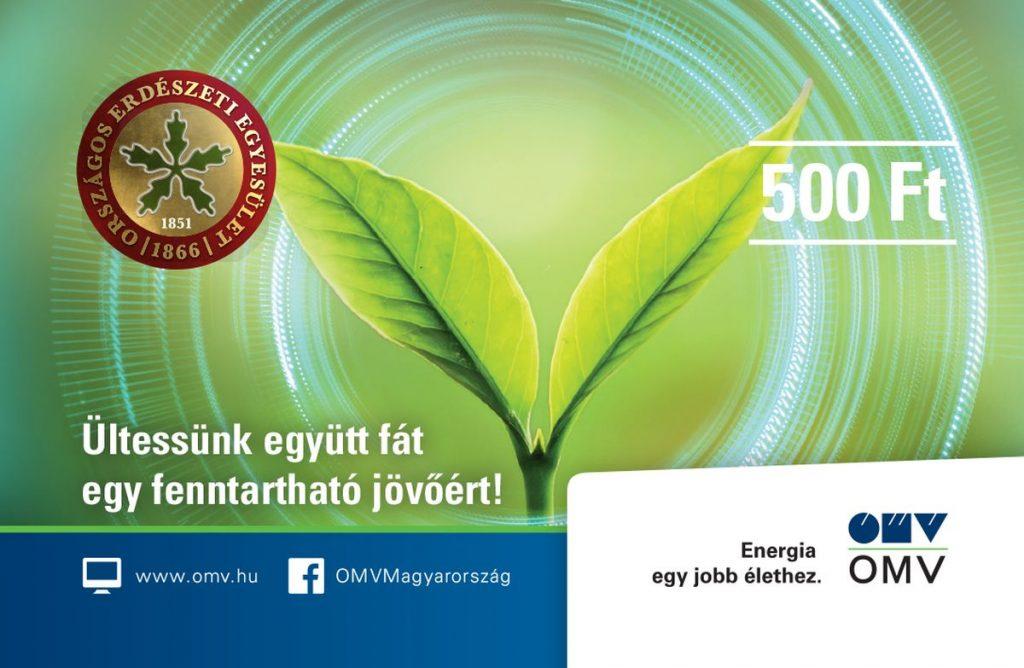 Az Országos Erdészeti Egyesülettel együttműködve indít faültetési programot az OMV