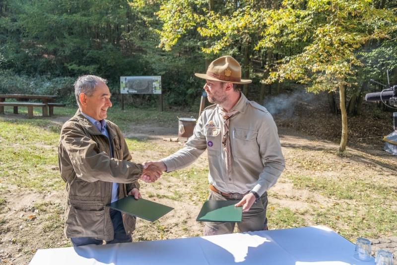 A magyar erdőkért és a jövő nemzedékeiért fog össze az OEE és a Magyar Cserkészszövetség