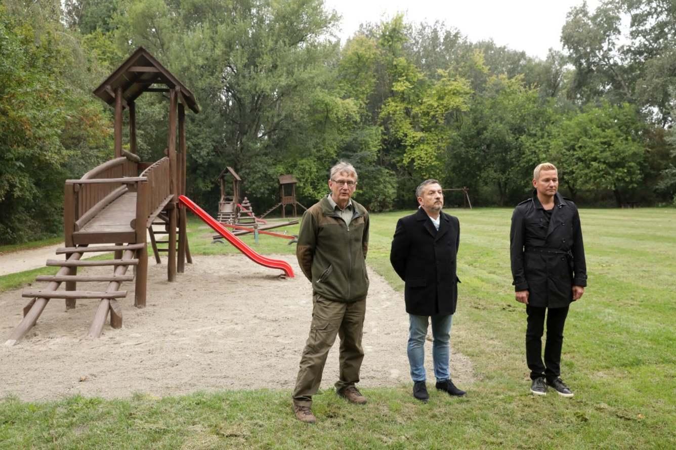 Tovább szépült a Püspökerdő Győrben