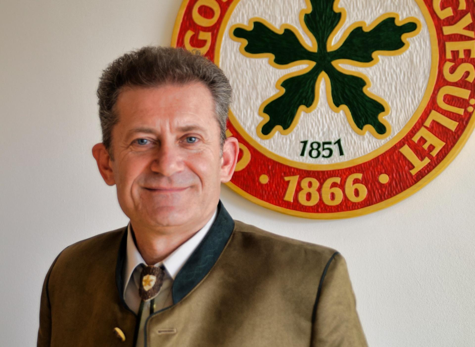 Szentpéteri Sándor az erdőkért felelős helyettes államtitkár