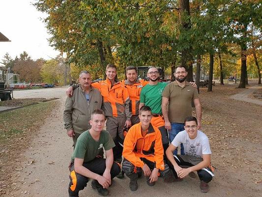 A Rothos erdész diákok képviselik Magyarországot az Ifjúsági Erdész EB-n