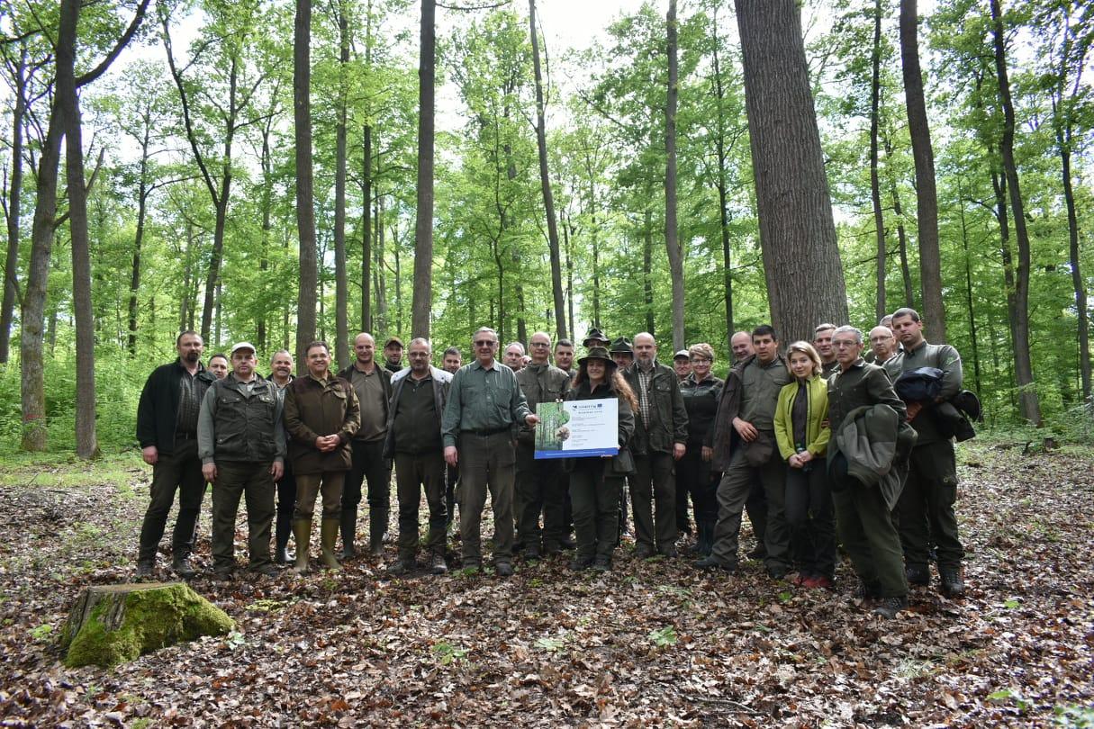 Újabb közös projektet zárt le az Ipoly Erdő Zrt. és a LESY SR
