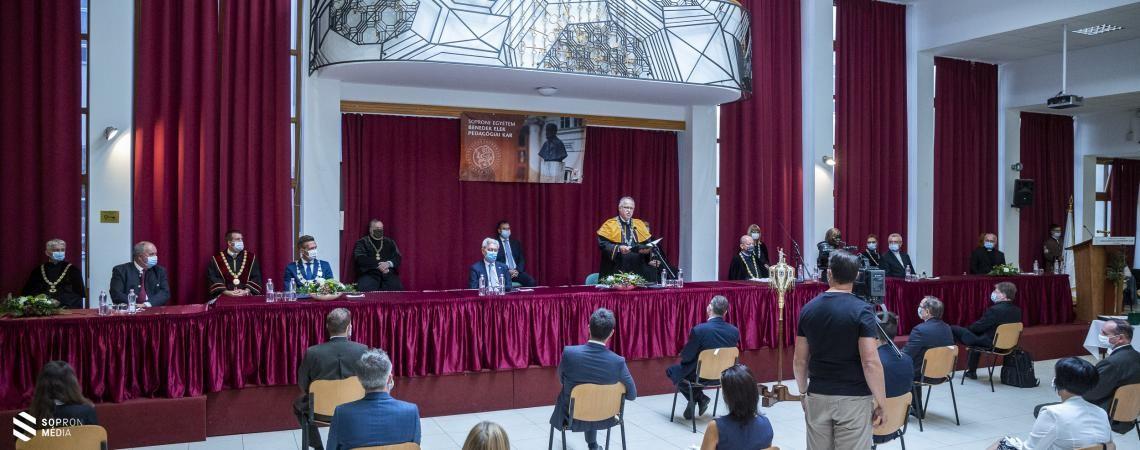 Évnyitó a Soproni Egyetemen